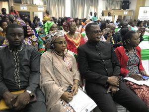 Vue des participants lors de la cérémonie officielle d'ouverture du Forum de Cotonou