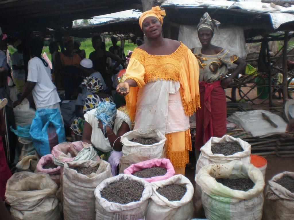 Un groupement de femmes, spécialisé dans la transformation de produits agricoles en Afrique de l'Ouest